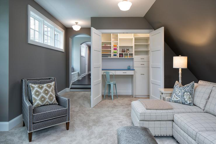 Family Room With Closet Craft View Full Size