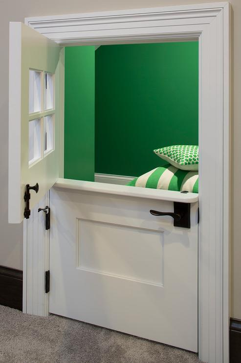Playroom with Mini Dutch Door & Playroom with Mini Dutch Door - Transitional - Boy\u0027s Room