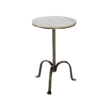 Cottage Style End Table In White