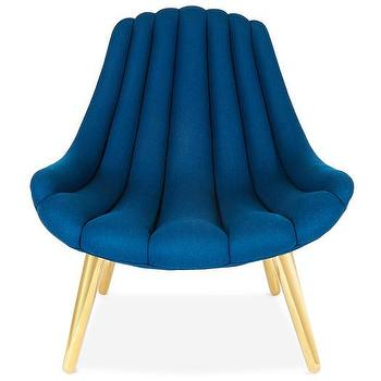 navy and gold channel tufted side chair channel tufted furniture