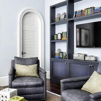 Fabric Tv Cabinet Doors Design Ideas
