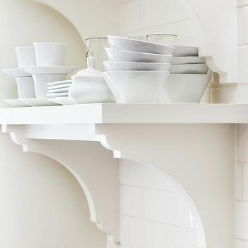 White Kitchen Shelves white kitchen shelves design ideas