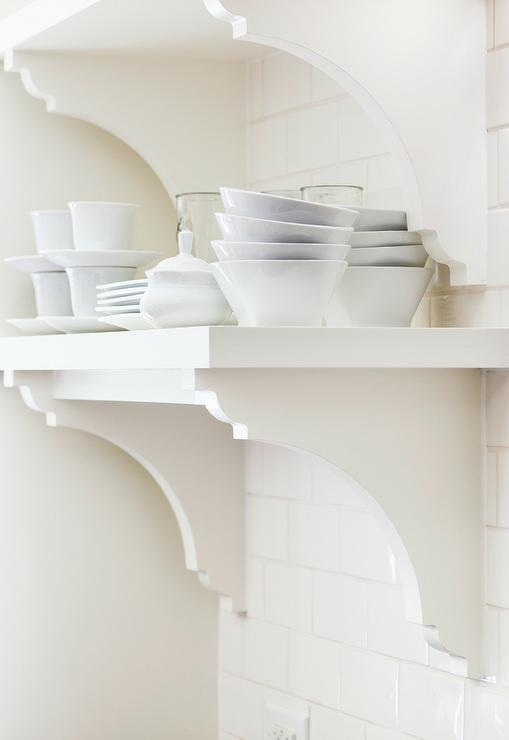 off white kitchen shelves and corbels transitional kitchen rh decorpad com corbels for kitchen shelves corbels for kitchen shelves