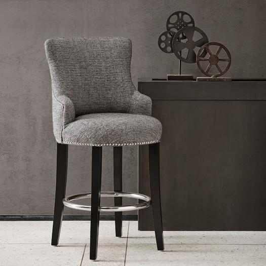 Charlotte Grey Bar Stool