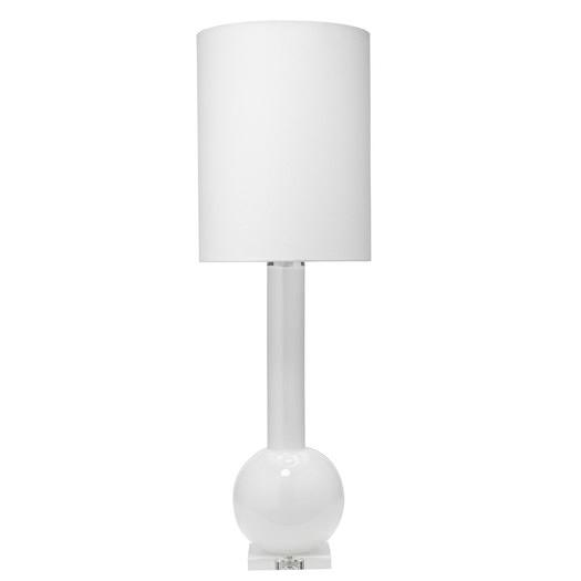 Regina Andrew Lighting White Star Glass Table Lamp