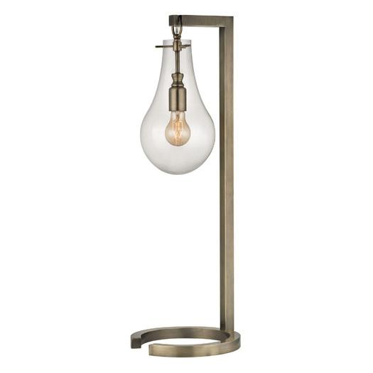 Antique brass glass shade table lamp aloadofball Image collections