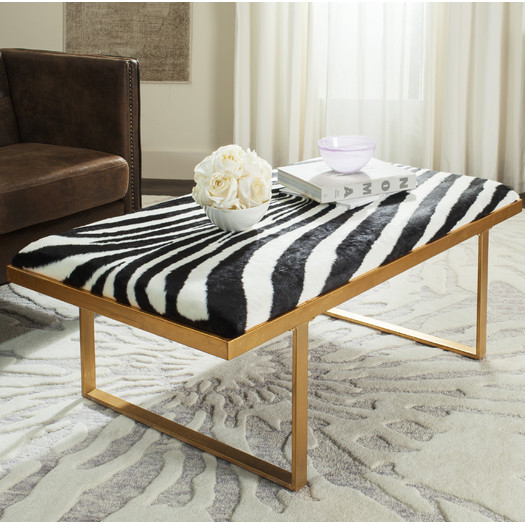 Zebra Coffee Table By