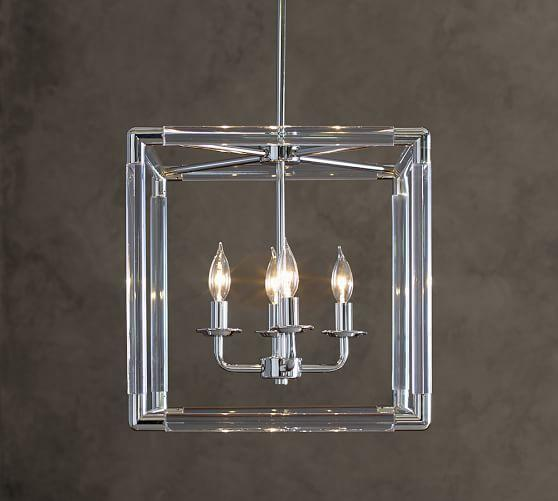 Acrylic Cube Pendant Light Products Bookmarks Design