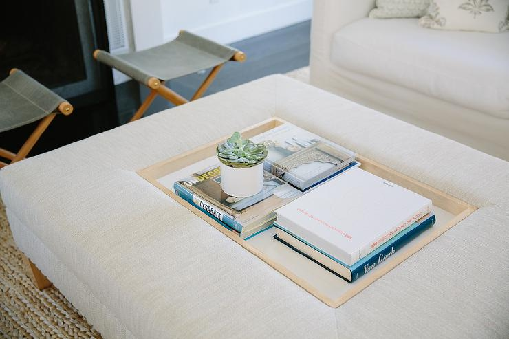 Ottoman Coffee Table Design Ideas