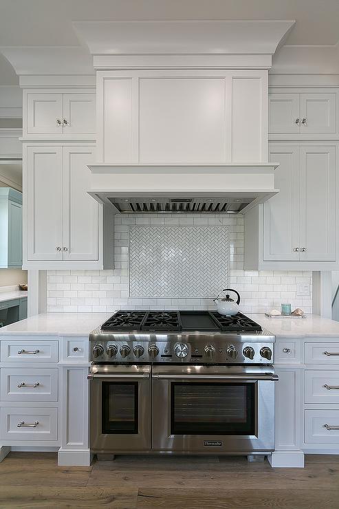 Powder Blue Kitchen Island With Clear Acrylic Bar Stools