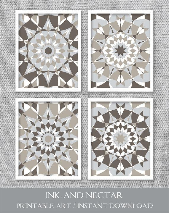 Ink and Nectar Gray Medallion Wall Art  sc 1 st  Decorpad & Distressed Medallion Metal Wall Art