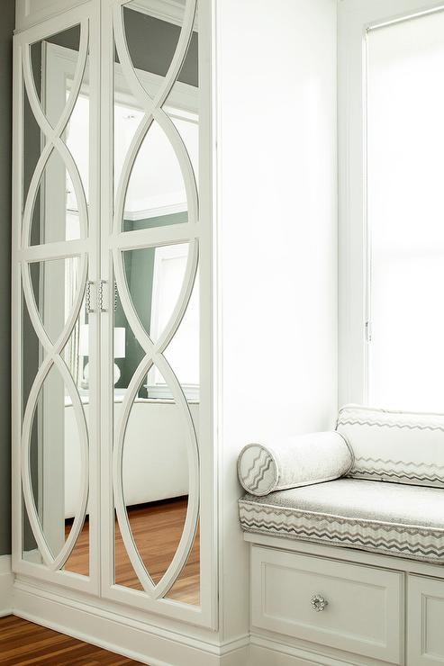Mirrored Wardrobe Cabinets With Eclipse Trim