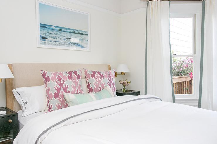 Ornate Headboard Hollywood Regency Bedroom Greg Natale