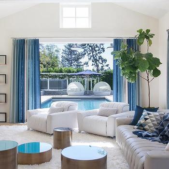 aqua blue glass top accent tables design ideas rh decorpad com