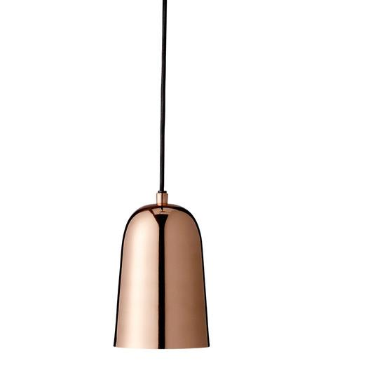 Shiny copper one light mini pendant mozeypictures Image collections