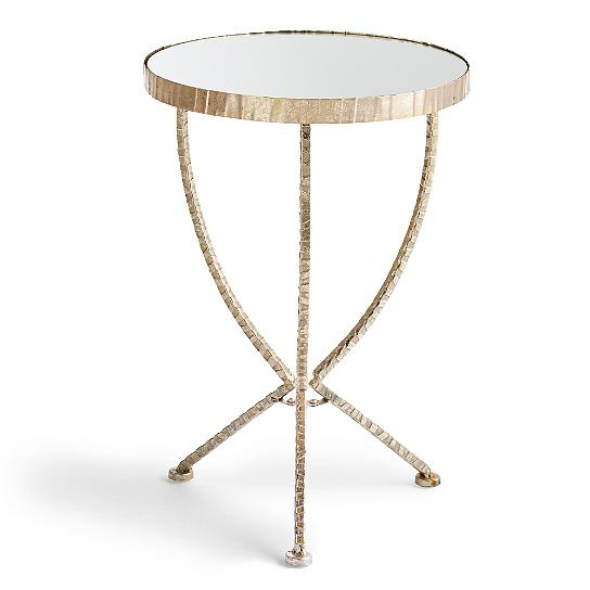 Grandin Road Gloria Accent Table view full size. Mirror Top Accent Table   Look 4 Less and Steals and Deals