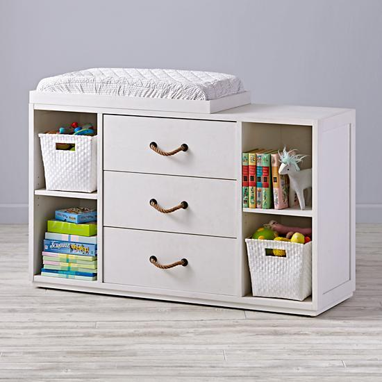 white wide storage changing table rh decorpad com changing table with drawer white changing table with shelves
