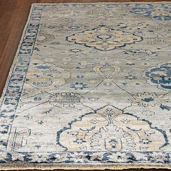 Best Lucerne Rug in Blue KE07