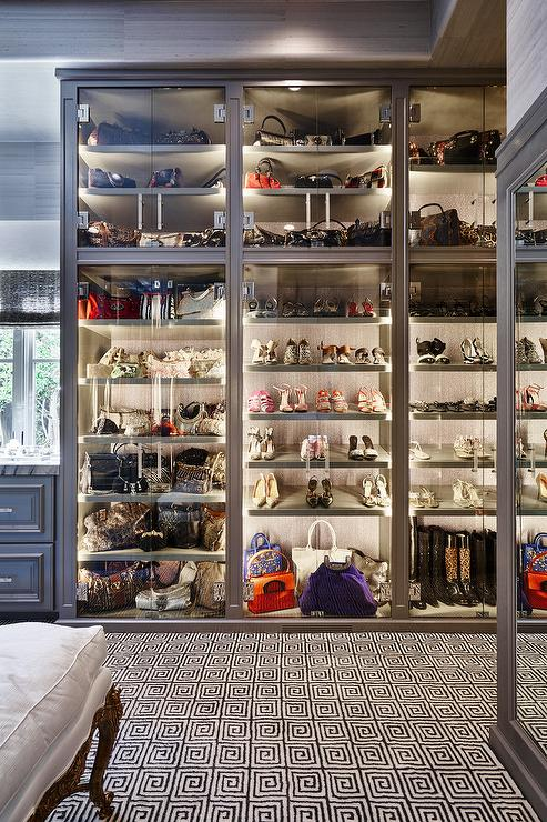 closet design ideas small space - Glass Bag Cabinet Design Ideas