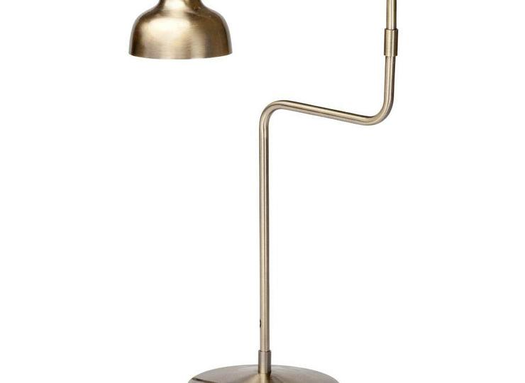Matte gold stainless steel table lamp aloadofball Image collections
