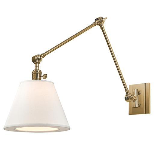 Welcoming White Kitchen Is Illuminated By Regina Andrew: Beige Architectural Task Sectional Sconce