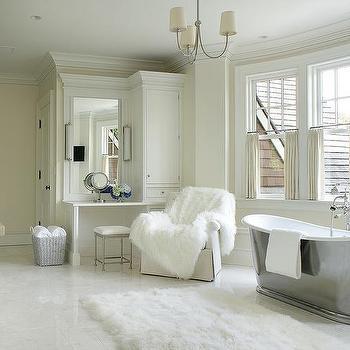 bathroom bay window - transitional - bathroom - john b