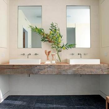 reclaimed wood vanity modern bathroom bhg. Black Bedroom Furniture Sets. Home Design Ideas