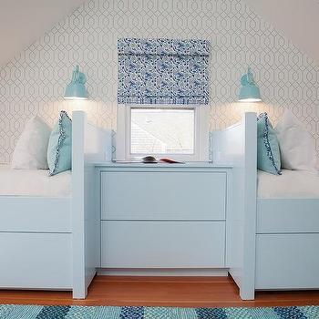 Well known Turquoise Blue Nightstand Design Ideas SL98