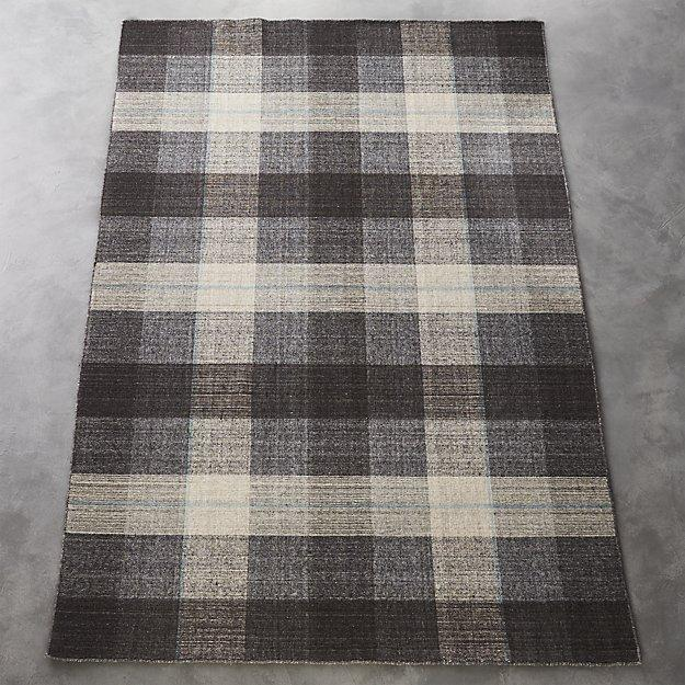 Plaid Rug: Home Decor