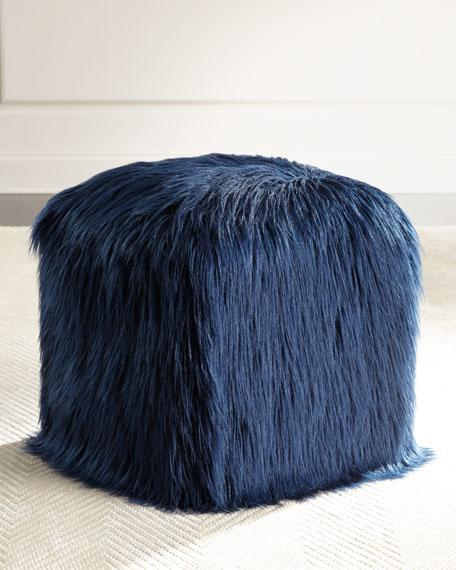 Various Colors Bubble Knit Pouf