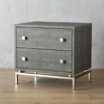 embossed metal nightstand - products, bookmarks, design, inspiration Metal Nightstand