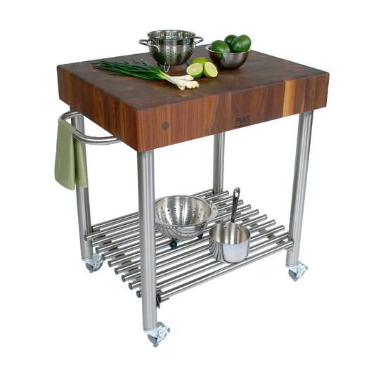 craftsmen natural with carts top catskill finish cart kitchen p block butcher