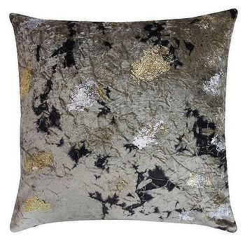 Marbled Cosima Silver Gold Pillow