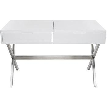 White X Base Make Up Table