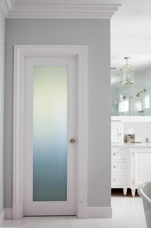 Frosted glass water closet door with brass door knob frosted glass water closet door with brass door knob planetlyrics Image collections