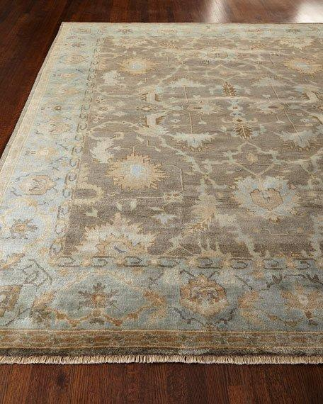 Studio Pale Blue Hand Tufted Wool Rug
