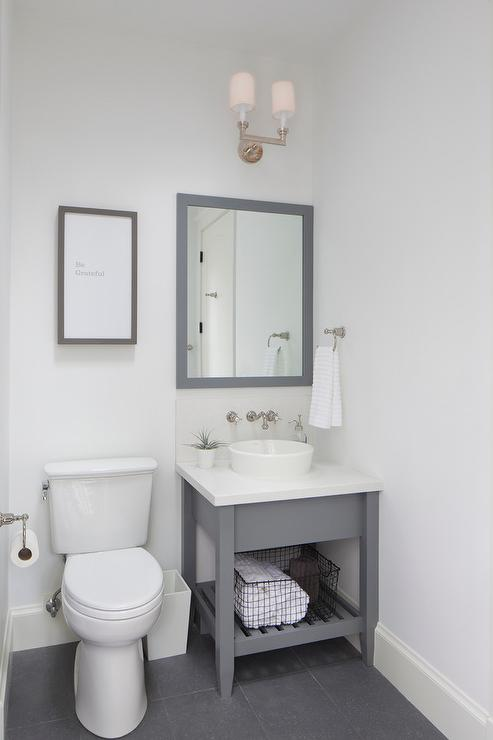 What Size Mirror In Small Powder Room