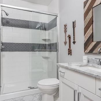 Reclaimed Wood Arrows Bathroom Decor Design Ideas