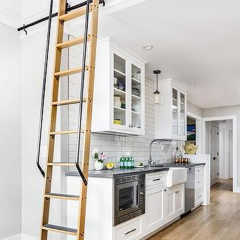 Kitchen Loft With Ladder