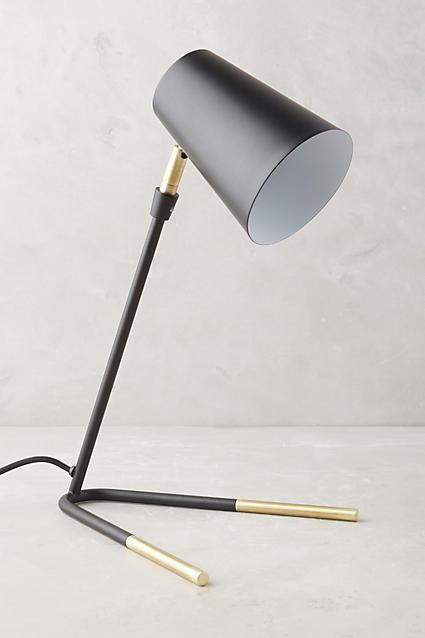 Dipped Black Task Lamp