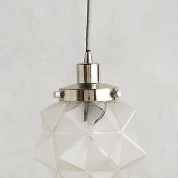 Stella glass star pendant frosted glass facet star pendant mozeypictures Image collections