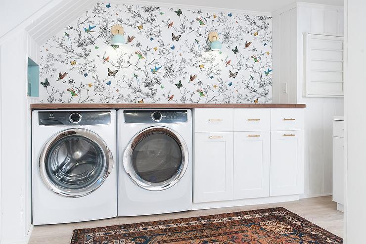laundry room retro wallpaper - photo #27