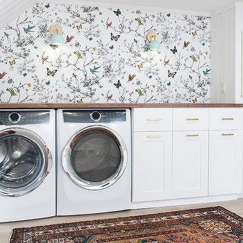 laundry room retro wallpaper - photo #24
