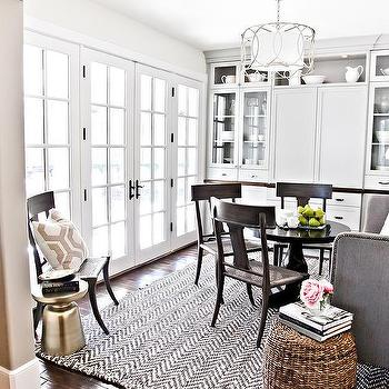 Gray Dining Room Rug Design Ideas