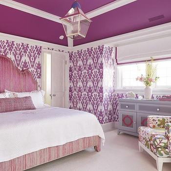 Pink And Purple Bedroom Design Ideas