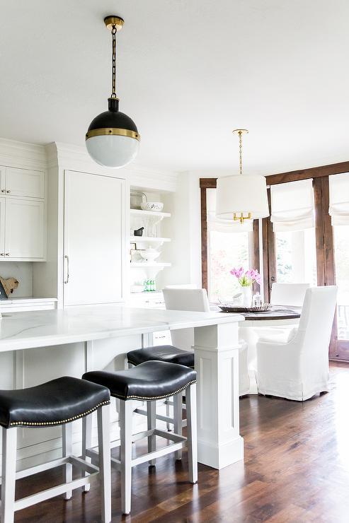 Veneer Kitchen Cabinets Contemporary Dining Room