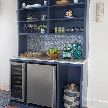 Wet Bar Mini Fridge Design Ideas