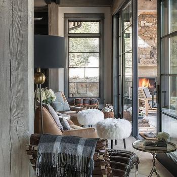 Rustic Wood Sunroom Support Beams Design Ideas
