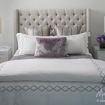 Gray Bedroom With Purple Accents gray bedroom with purple accents design ideas