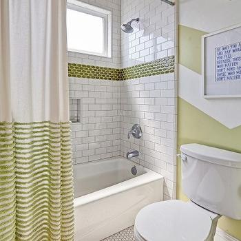 White And Green Chevron Bathroom Walls Design Ideas on shower curtain with green, decorating with green, photography with green, bedroom designs with green, bathroom themes with green, living room with green, kitchen design with green, paint with green, interior design with green,